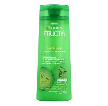Garnier Fructis Fresh szampon do włosów przetłuszczających się oczyszczający 400 ml