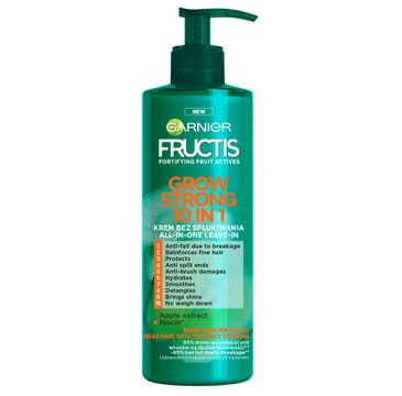 Garnier – Fructis Grow Strong 10in1 krem bez spłukiwania do włosów (400 ml)