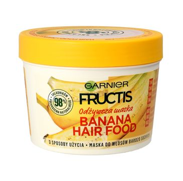 Garnier Fructis Hair Food Banana maska odżywcza do włosów 390 ml
