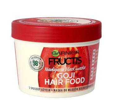 Garnier Fructis Hair Food Goji maska do włosów nadająca blask 390 ml