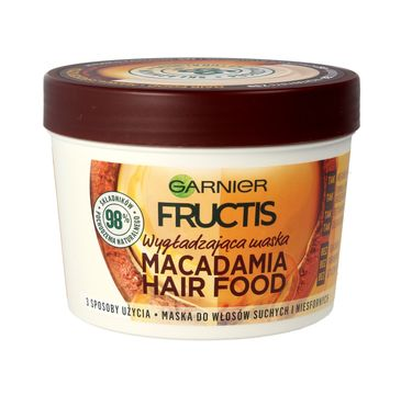 Garnier Fructis Hair Food Makadamia maska do włosów 390 ml