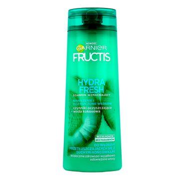 Garnier Fructis Hydra Fresh szampon do włosów przetłuszczających się z suchymi końcówkami 400 ml