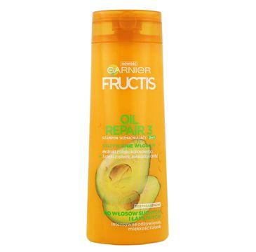 Garnier Fructis Oil Repair 3 szampon do włosów suchych odżywczy 2w1 400 ml
