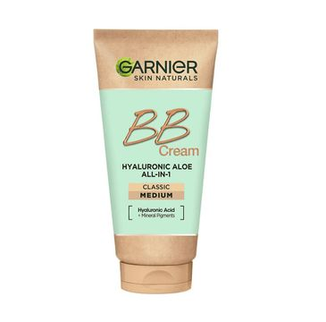 Garnier Hyaluronic Aloe All-In-1 BB Cream nawilżający krem BB dla każdego typu skóry Śniady (50 ml)