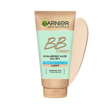 Garnier Hyaluronic Aloe All-In-1 BB Cream nawilżający krem BB dla skóry tłustej i mieszanej Jasny (50 ml)