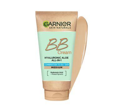Garnier Hyaluronic Aloe All-In-1 BB Cream nawilżający krem BB dla skóry tłustej i mieszanej Śniady (50 ml)