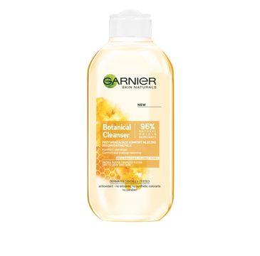Garnier Skin Naturals Botanical Flower Honey mleczko do cery suchej do demakijażu przywracające komfort 200 ml