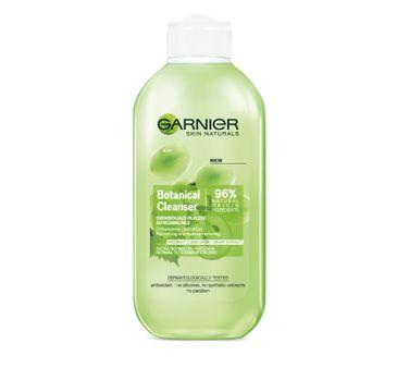 Garnier Skin Naturals Botanical Grape Extract mleczko do każdego typu cery odświeżające do demakijażu 200 ml