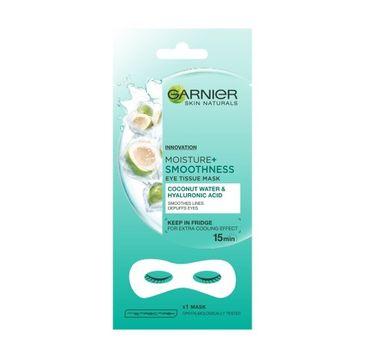 Garnier Skin Naturals Moisture+ maska pod oczy Coconut Water & Hyaluronic Acid 6 g