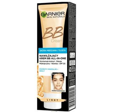 Garnier nawilżający BB krem 5w1 skóra mieszana i tłusta light (40 ml)