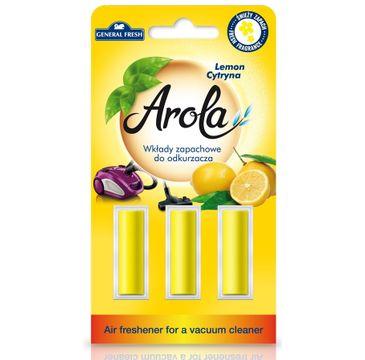 General Fresh Arola Wkłady zapachowe do odkurzacza Cytryna (1op.)