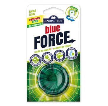 General Fresh Blue Force leśna kostka do spłuczki (40 g)