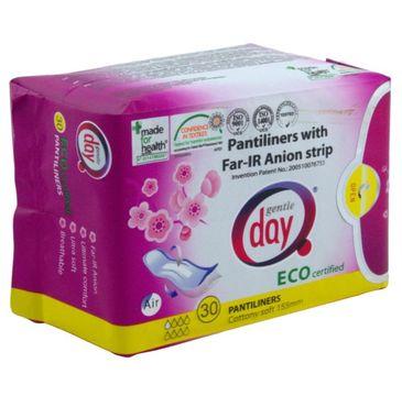 Gentle Day Pantiliners With Far-IR Anion Strip wkładki higieniczne z paskiem anionowym eco 30szt