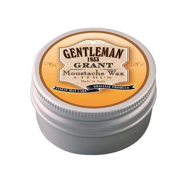 GENTLEMAN Grant Moustache Wax wosk do wąsów Citrus 30ml