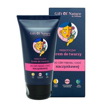 Gift of Nature – Prebiotyczny krem do twarzy do cery naczynkowej (50 ml)