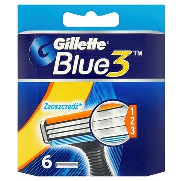Gillette Blue 3 wymienne ostrza do maszynki do golenia 6szt