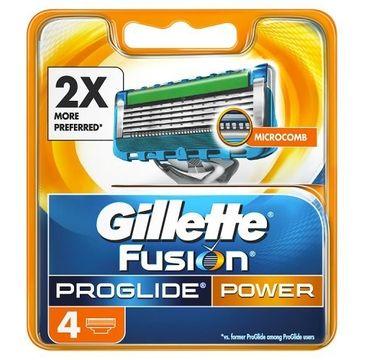 Gillette Fusion Proglide Power wymienne ostrza do maszynki do golenia 4szt