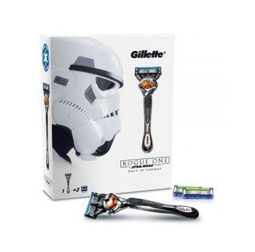 Gillette Fusion Proglide zestaw maszynka do golenia + wymienne ostrza 2szt