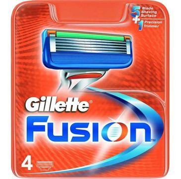 Gillette Fusion wymienne ostrza do maszynki do golenia 4szt