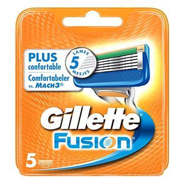 Gillette Fusion wymienne ostrza do maszynki do golenia 5szt