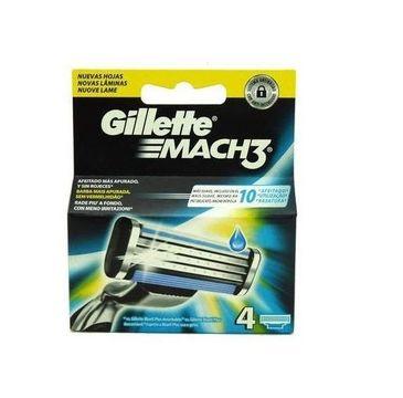 Gillette Mach 3 wymienne ostrza do maszynki do golenia 4szt