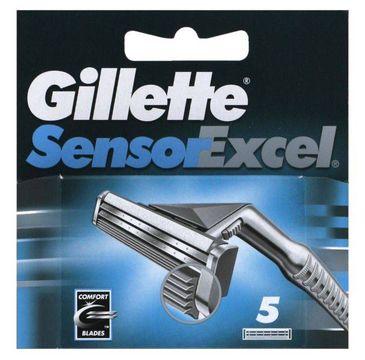 Gillette Sensor Excel wymienne ostrza do maszynki do golenia 5szt