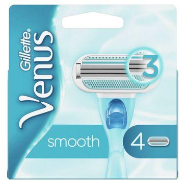 Gillette – Venus Smooth wymienne ostrza do maszynki do golenia dla kobiet (4 szt.)