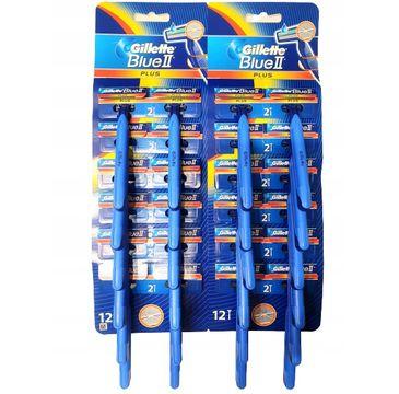 Gillette Blue II Plus maszynki do golenia (24 szt.)