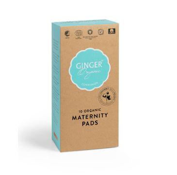 Ginger Organic Maternity Pads podkłady poporodowe 10szt