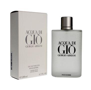 Giorgio Armani Acqua Di Gio Pour Homme woda toaletowa 200 ml