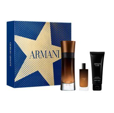 Giorgio Armani – Armani Code Profumo Pour Homme zestaw woda perfumowana spray 60ml + woda perfumowana spray 15ml + żel pod prysznic 75ml (1 szt.)