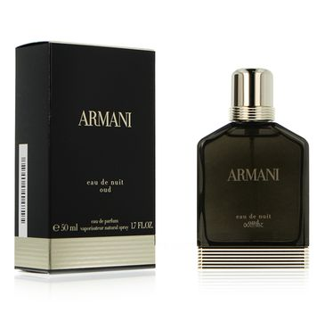 Giorgio Armani Armani Eau De Nuit Oud Pour Homme woda perfumowana 50ml