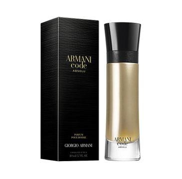 Giorgio Armani Code Absolu Pour Homme woda perfumowana spray 110ml