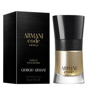 Giorgio Armani Code Absolu Pour Homme woda perfumowana spray 30ml