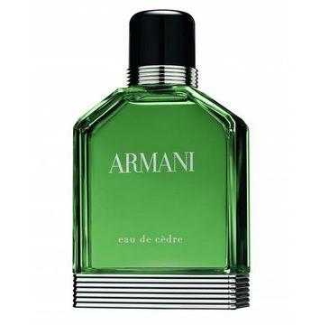 Giorgio Armani Eau de Cedre woda toaletowa spray 50ml