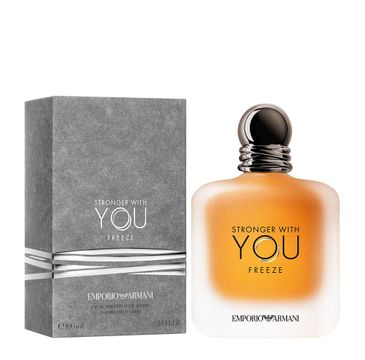 Giorgio Armani Stronger With You Freeze woda toaletowa spray (100 ml)