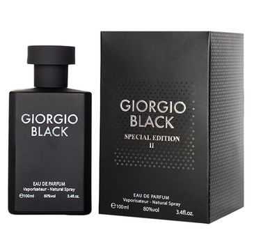 Giorgio Black Special Edition II For Men woda perfumowana spray (100 ml)