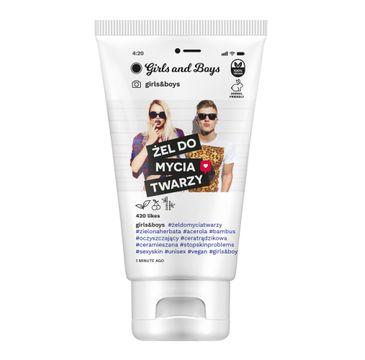Girls and Boys Girls&Boys żel do mycia twarzy (150 ml)