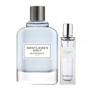Givenchy – Gentlemen Only zestaw woda toaletowa spray 100ml + miniatura wody toaletowej spray (15 ml)