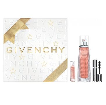 Givenchy Live Irresistible zestaw prezentowy woda perfumowana spray 50 ml + woda perfumowana 3 ml + Mini Mascara 1 Black Satin 4 g