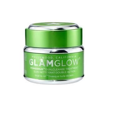 GlamGlow Power Mud Dual Cleanse Treatment Masque maseczka do twarzy 15g