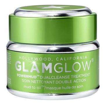 GlamGlow Powermud Dualcleanse Treatment podwójnie oczyszczająca maseczka do twarzy 50g
