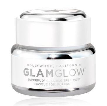 GlamGlow Supermud Clearing Treatment oczyszczająca maseczka do twarzy 15g