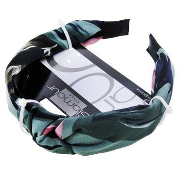Glamour Green Collection opaska do włosów z węzłem (1 szt.)