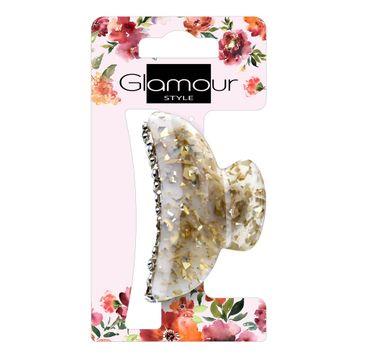 Glamour Klamra do włosów Złota (1 szt.)