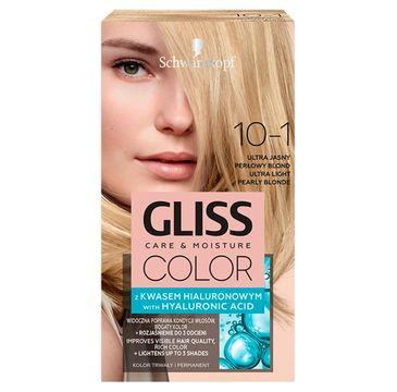 Gliss – Color (krem koloryzujący nr 10-1 Ultra Jasny Popielaty Blond 1 op.)
