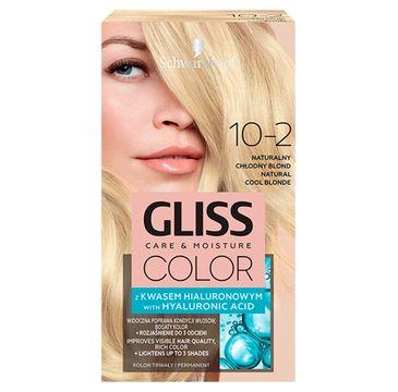 Gliss  – Color (krem koloryzujący nr 10-2 Naturalny Chłodny Blond 1 op.)