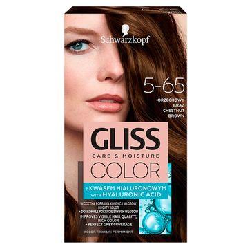Gliss – Color (krem koloryzujący nr 5-65 Orzech Brąz 1 op.)