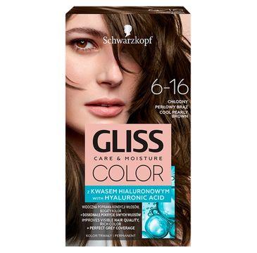 Gliss – Color (krem koloryzujący nr 6-16 Chłodny Perłowy Brąz 1 op.)