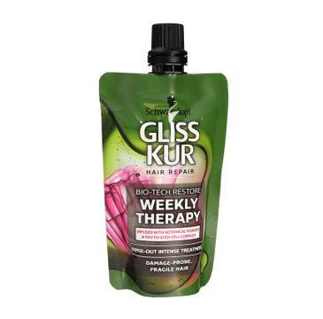 Gliss Kur Bio-Tech Restore Odżywka regenerująca do włosów delikatnych mini 50ml